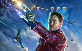 Chris Pratt, wie Stern-Herr, Guardians of the Galaxy HD Hintergrundbilder