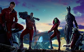 Guardians of the Galaxy, Filmfiguren HD Hintergrundbilder