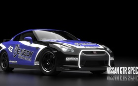 Need for Speed, Nissan GTR Spec V HD Hintergrundbilder