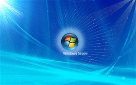 Windows 7, blau sonic HD Hintergrundbilder