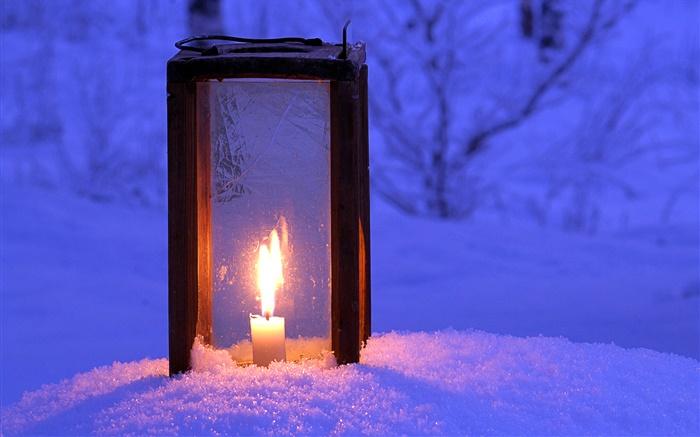 beleuchteten laterne kerze schnee nacht hd hintergrundbilder reise hintergrundbilder. Black Bedroom Furniture Sets. Home Design Ideas