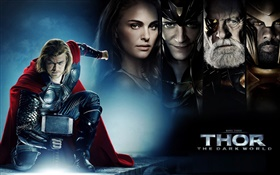 Thor 2: The Dark World, Filmplakat HD Hintergrundbilder