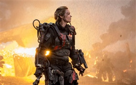 Emily Blunt in Edge of Tomorrow HD Hintergrundbilder
