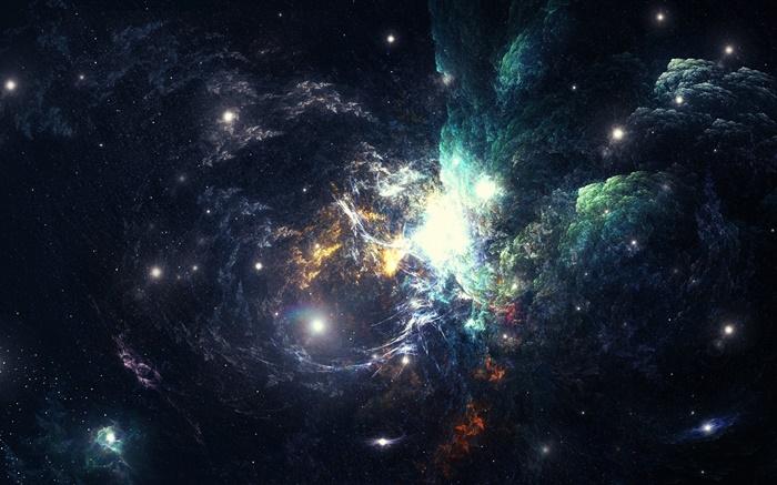 Sch ner platz nebel galaxien hd hintergrundbilder for Espacio exterior 4k