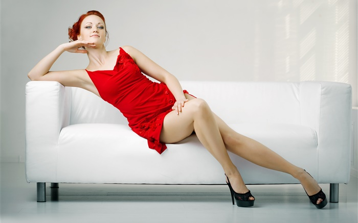 Rotes kleid sexy