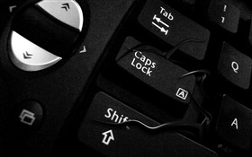 Keyboards close-up HD Hintergrundbilder