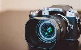 Lumix Kamera close-up, Linse HD Hintergrundbilder