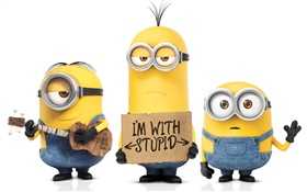 Minions Cartoon Film HD Hintergrundbilder