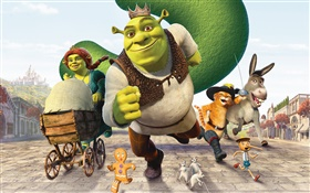Shrek Cartoon Film HD Hintergrundbilder