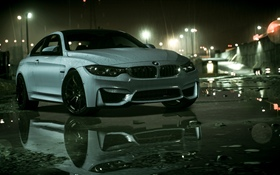 BMW Auto, Regen, Need For Speed HD Hintergrundbilder